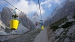 Staunies historic cable car closes above Cortina