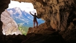Renegade, new rock climb up Tofana di Rozes, Dolomites