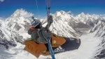 Antoine Girard soars to new paragliding record above Broad Peak in the Karakorum