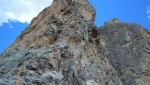 Torvagando for Nepal: Campanile Dülfer e Guglia De Amicis in Dolomiti