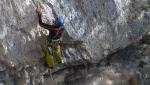 Eco dall'Abisso, la nuova via di Sergio Coltri  in Val d'Adige