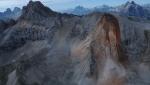 Dolomiti: impressionante frana sulla Piccola Croda Rossa