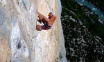 Verdon climbing: Toni Lamprecht frees Le Vieux et la mer