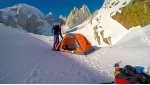 Cerro Torre solo winter attempt, Markus Pucher stops 40 meters below summit