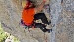 Val Masino, new Mongolfiera rock climb in memory of Pietro Biasini