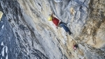 Roger Schaeli repeats Eiger North Face La vida es silbar
