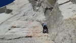 Nina Caprez climbs Mont Blanc Divine Providence