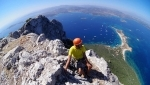 Tavolara, climbing on the Sardinian island shrouded in myth