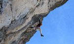 Masada, Sass Maor, Dolomites: first free ascent by Riccardo Scarian