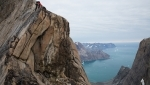 Aurora Artika, discovering the climbing in Greenland's Mythic Circle