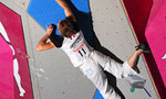 David Lama and Juliette Danion  European Bouldering Champions 2007