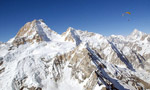 Paragliding around Masherbrum