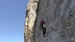 Via Giove, un altro gioiellino d'arrampicata di Heinz Grill & Co in Vallaccia, Dolomiti