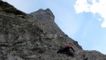 Brenta Dolomites: new rock climb up Cima Tosa