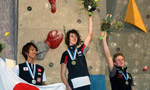 Climbing World Cup Lead 2009 won by Johanna Ernst and Adam Ondra