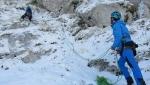 Monte Gallinola, tre nuove vie di arrampicata su misto in Appennino