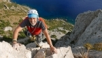 Magnificat, new rock climb at Capo d'Uomo in Tuscany