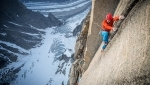 Mirror Wall, Leo Houlding and Co climbing in Greenland