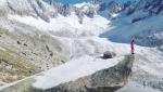 Kilian Jornet Burgada al Refuge du Couvercle, massiccio del Monte Bianco