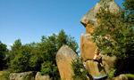 Targassonne boulder, Francia