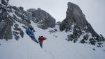 Ski mountaineering and Speed Riding in the Georgian Dolomites