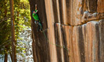 Sonnie Trotter, first trad ascent of Prosthetics at Mill Creek, Utah