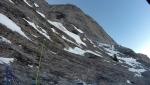Il Soccorso alpino Dolomiti Bellunesi sulla cima dell'Eiger
