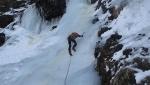 Val Clavalitè in punta di becca, cascate di ghiaccio in Valle d'Aosta
