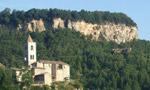 San Giorgio, climbing in the Marche, Italy