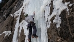 Happy Ending, new icefall in Val Trementina, Paganella