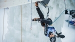 Ice Climbing World Cup 2017 won in Corvara by HeeYong Park and Han Na Rai Song