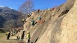 Video alpinismo: gli aspiranti guida alpina e la sicurezza, l'autosoccorso e l'arrampicata su ghiaccio