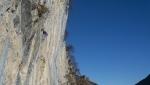 Solarium, il nuovo settore d'arrampicata alla Corna Rossa di Bratto