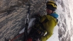 Troll Wall, first solo winter ascent by Marek Raganowicz in Norway