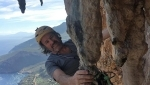San Vito lo Capo climbing: Christoph Hainz and Andrea De Martin Polo ascend November Sun