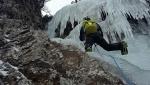 Val Gerola, nuove cascate di ghiaccio per Cristian Candiotto & Co
