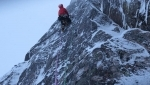 Winter mountaineering in Scotland / Greg Boswell adds difficult new mixed climb to Cairngorms
