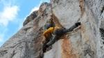 Cima Margherita e l'arrampicata di Heinz Grill in Sicilia