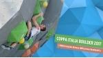 Coppa Italia Boulder 2017, inizia la stagione agonistica di arrampicata sportiva