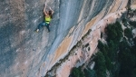 Barbara Zangerl climbs 8c+ at Siurana in Spain