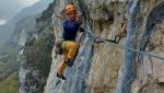 Valle del Sarca e la nuova via d'arrampicata Via Obliquando