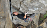 Casal Pianos, new crack climbing area in Portugal