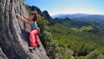 Sport climbing at Lula, the new crag in Sardinia