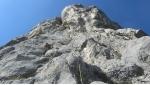 Valle del Sarca, due nuove vie d'arrampicata alla Torre Grigia del Brento
