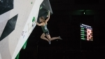 Janja Garnbret and Aleksei Rubtsov climb to new heights in Japan