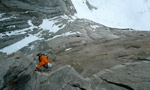 Waiting for Godot, Torres del Paine, Patagonia first ascent by  Hansjörg Auer and Much Mayr