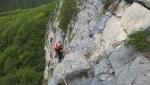 A… spIttando il Giro, al Monte Pubel in Valsugana una nuova via d'arrampicata
