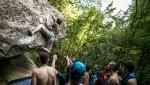 Caduta Massi Boulder Party 2017, torna il meeting d'arrampicata in Abruzzo