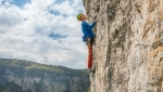 Distensione, new rock climb in Val Gadena by Alessio Roverato and Angela Carraro