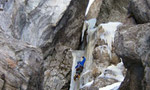 New icefalls in Italy